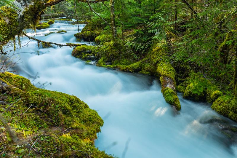 Lower Downing Creek Falls