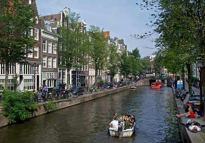 We spent several nights before the cruise in Amsterdam, a fun city.