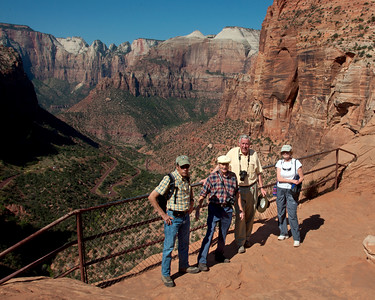 September 2011.  Part of the Bunch did a tour of southern Utah National Parks.