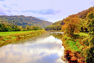 The River Wye at Bigsweir