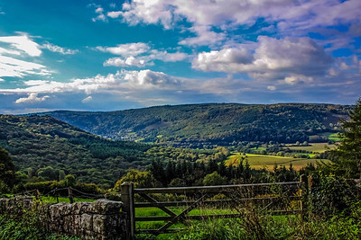 The Wye Valley (photograph taken from St. Briavels)
