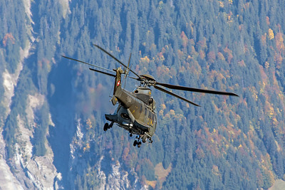 Swiss Air Force Aérospatiale AS 332M1 T-314 10-10-18 2