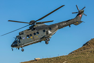 Swiss Air Force Aérospatiale AS 332M1 T-314 10-10-18 4