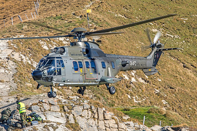 Swiss Air Force Aérospatiale AS 532UL T-342 10-10-18 2