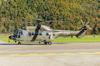 Swiss Air Force Aérospatiale AS 332M1 T-318 10-10-18