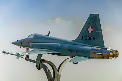 Swiss Air Force Northrop F-5E J-3008 10-10-18