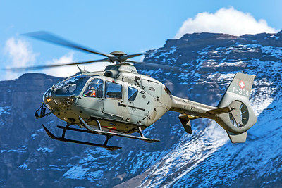 Swiss Air Force Eurocopter EC635P2+ T-354 10-10-18 2