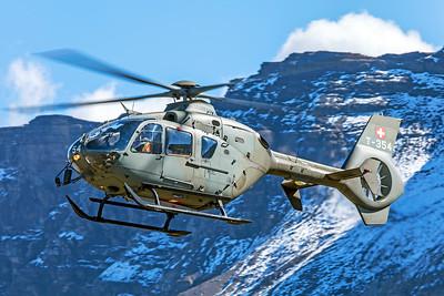 Swiss Air Force Eurocopter EC635P2+ T-354 10-10-18 2