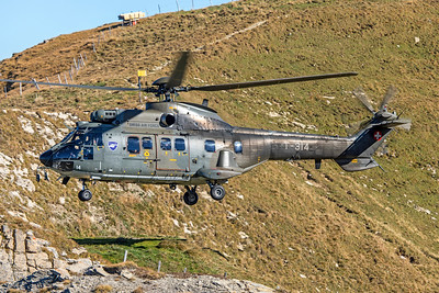 Swiss Air Force Aérospatiale AS 332M1 T-314 10-10-18