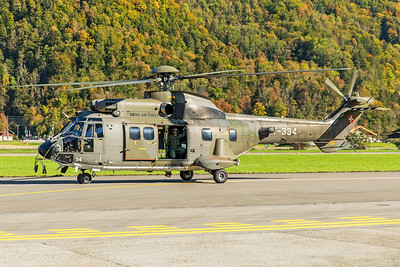 Swiss Air Force Aérospatiale AS 532UL T-334 10-10-18