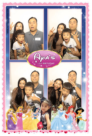 Aya's 1st Birthday (Luxe Photo Booth)