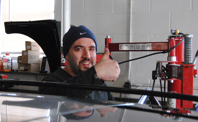 Kamal Serhan is ready to repair your vehicle. Ayer Auto Repair, a family-owned and run business, also sells used cars.