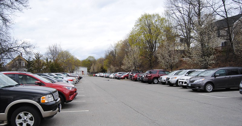 A long-awaited project will add a second level of parking in the form of a deck for commuters in Ayer. The lot on Park Street will have parking for rail trail users. Bathroom facilities will likely be located across Main Street in Depot Square.