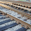 Nest of train tracks