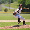 (06/03/18) Ayer/Shirley pitcher Mike Woodland  winds up for the throw during Sunday's varsity baseball game at St. Bernard's in Fitchburg.  SENTINEL & ENTERPRISE JEFF PORTER