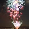 4th of July Fireworks, Lake Tahoe, Tahoe City, California