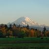 Mount Rainier from Lake Tapps, Washington