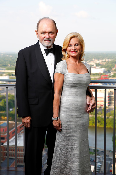 Jim and Janet Ayers portrait on April 30, 2017. Photos by Donn Jones Photography.