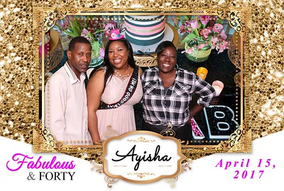 Ayisha's 40th Birthday Party