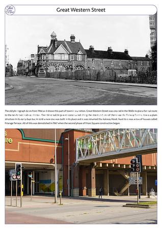 Great Western St, 1966 & 2021