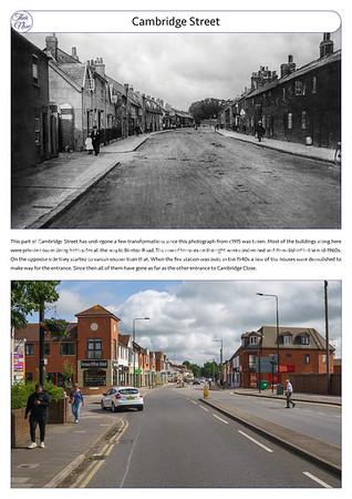 Cambridge Street, c1915 & 2021
