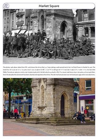 Market Square, 1916 & 2021