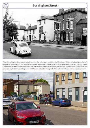 Buckingham St, 1960s & 2021