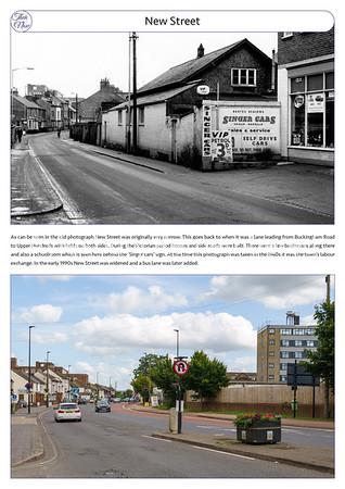 New Street, 1960s & 2021