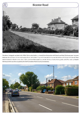 Bicester Road, 1930s & 2021