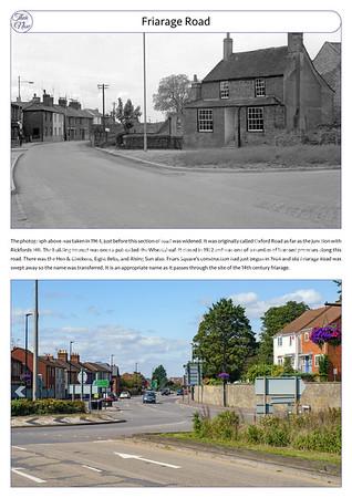 Friarage Road, 1964 & 2021