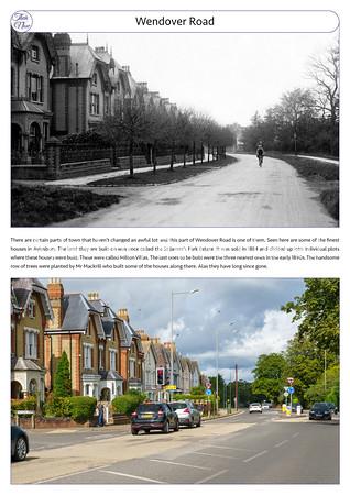 Wendover Road, c1915 & 2021