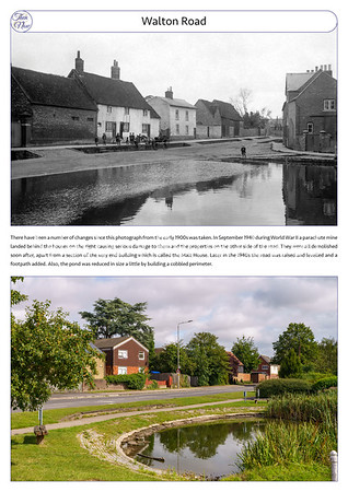 Walton Road, c1910 & 2021