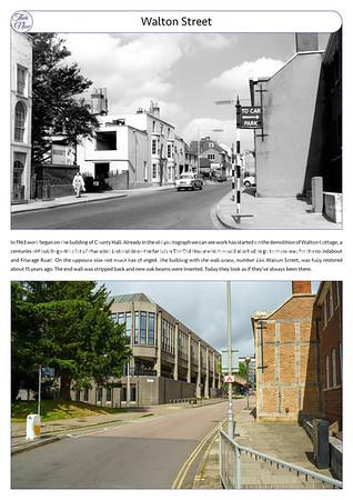 Walton Street, 1963 & 2021