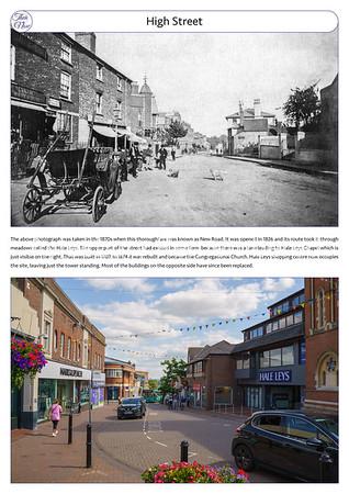 High Street, 1870s & 2021