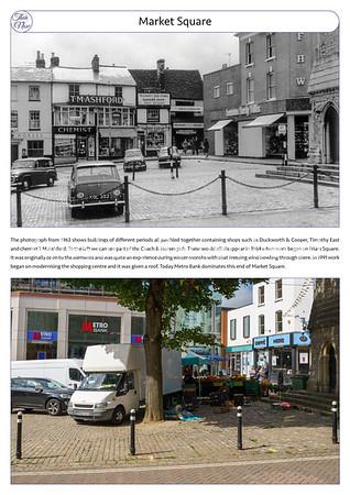 Market Square, 1963 & 2021