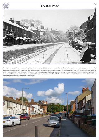 Bicester Road, 1908 & 2021