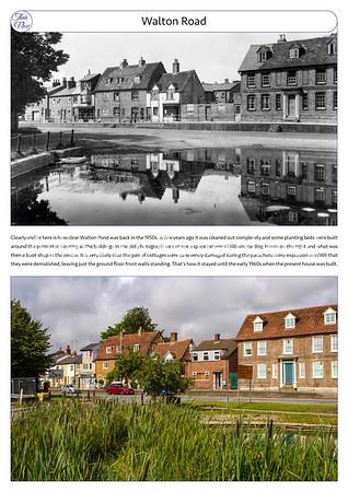 Walton Road, 1950s & 2021