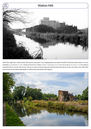 Walton Mill, 1960s & 2021