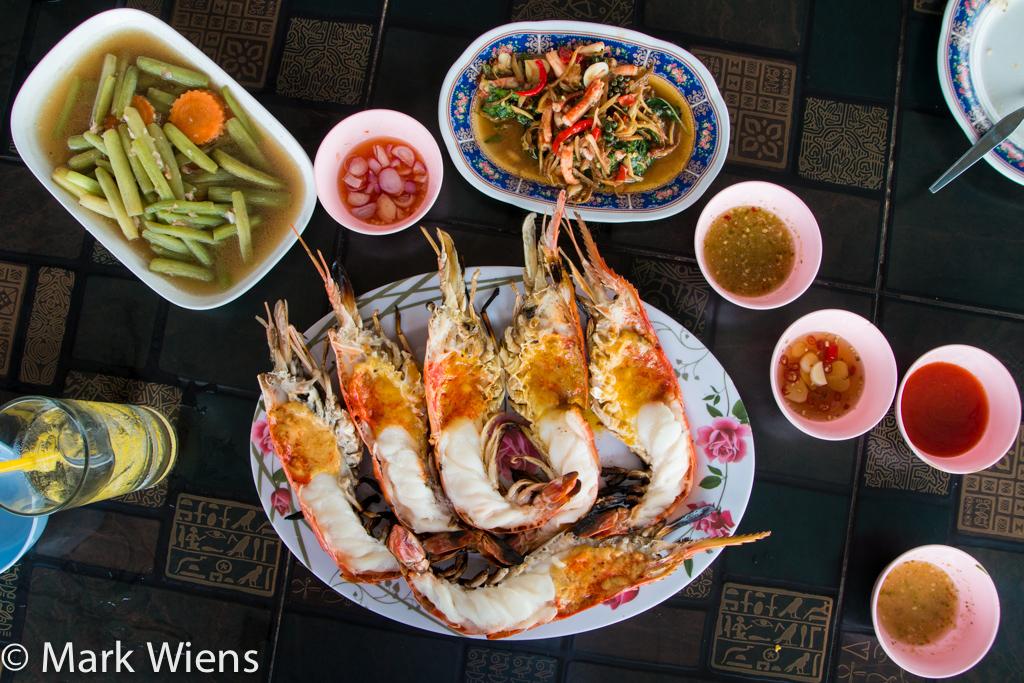 Thailand prawns