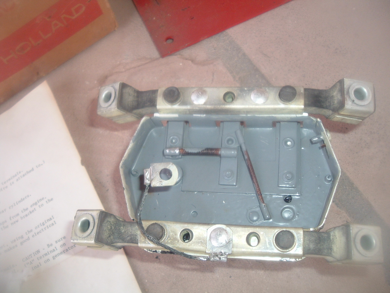 prestolite new voltage regulator 1949 wisconsin VG4D engine # VBO-4201-AD-3