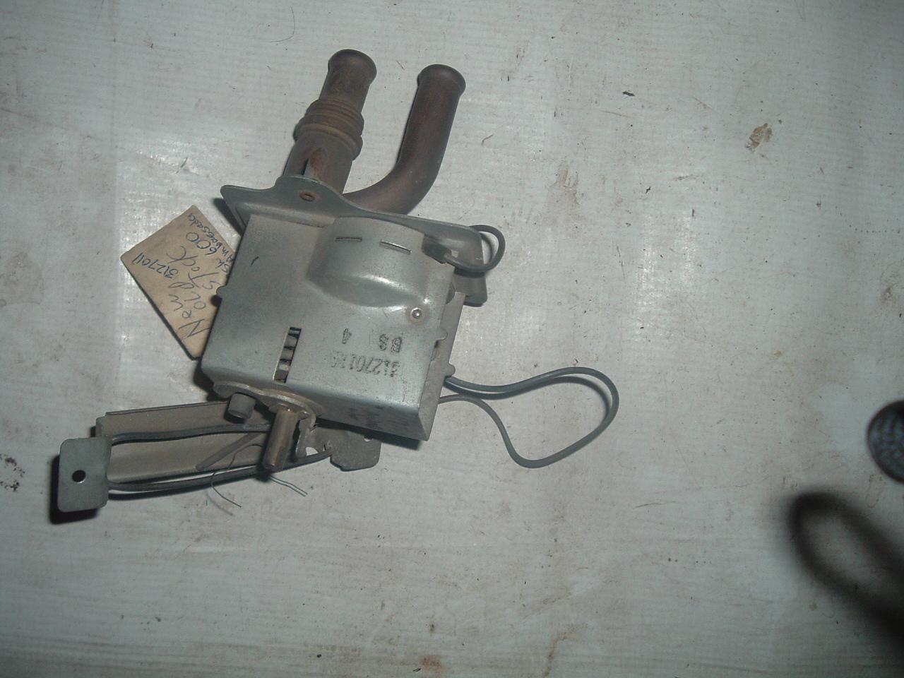 1958 Oldsmobile Nors Heat Temperature Regulator Remote Control Valve