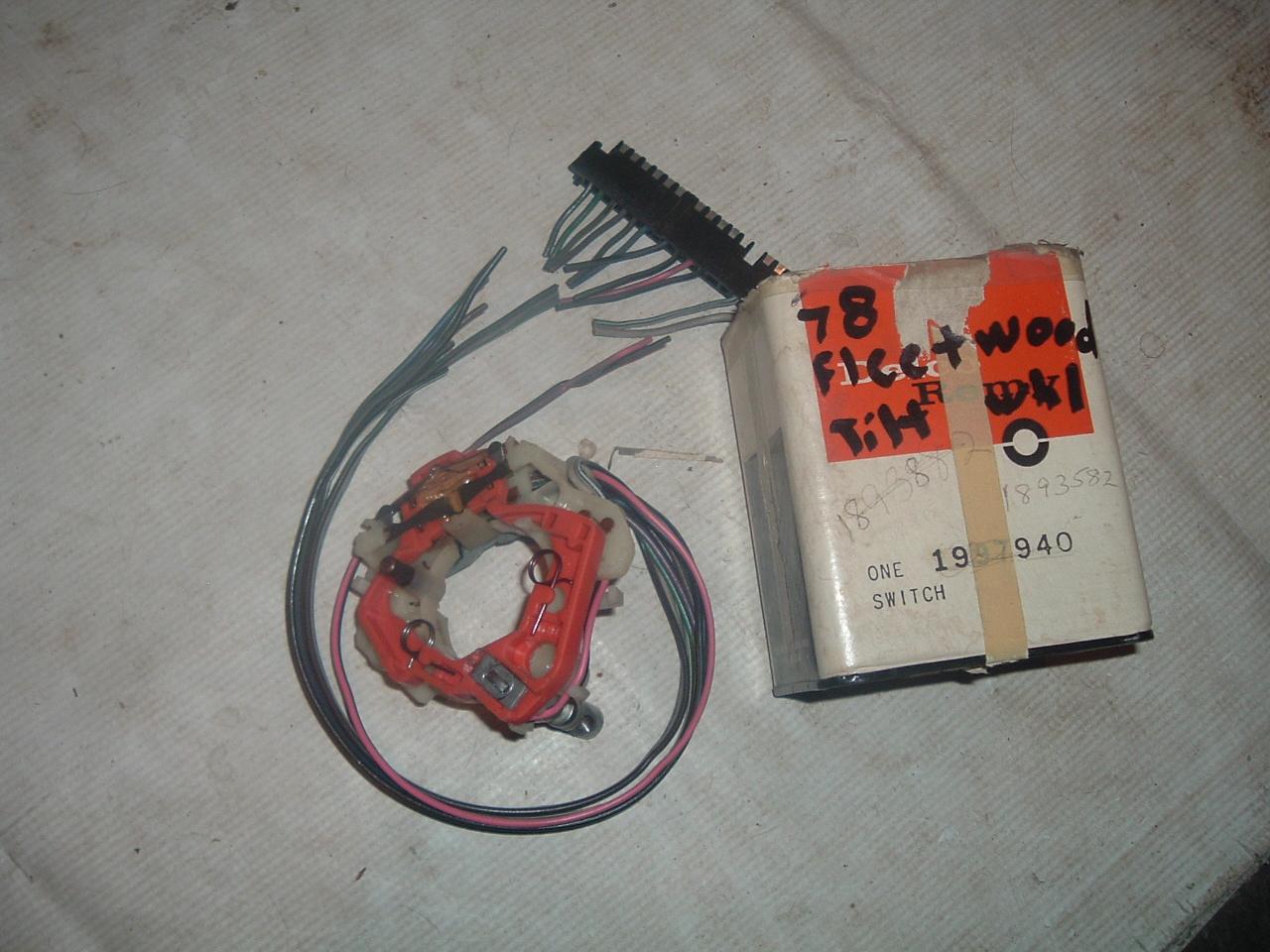 1969 70 71 72 73 74 75 cadillac turn signal switch tilt /teli 1997940 (1)