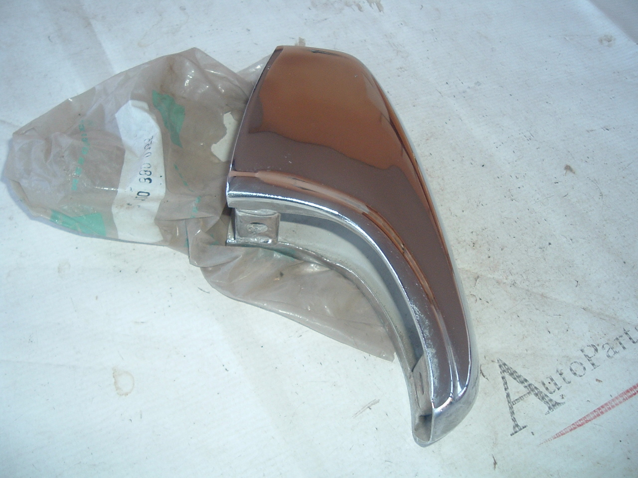 View ProductMERCEDES 180b 180Db 180Dc 190b 190Db 190Dc 200 D 230 LEFT REAR BUMPER nos new # 1208800155 (z 1208800155)