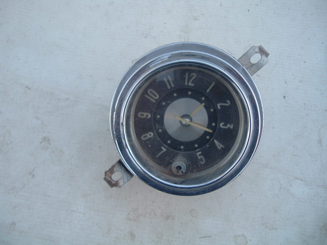 1951 52 buick super roadmaster dash electric clock original (z 50-52 buickclock)