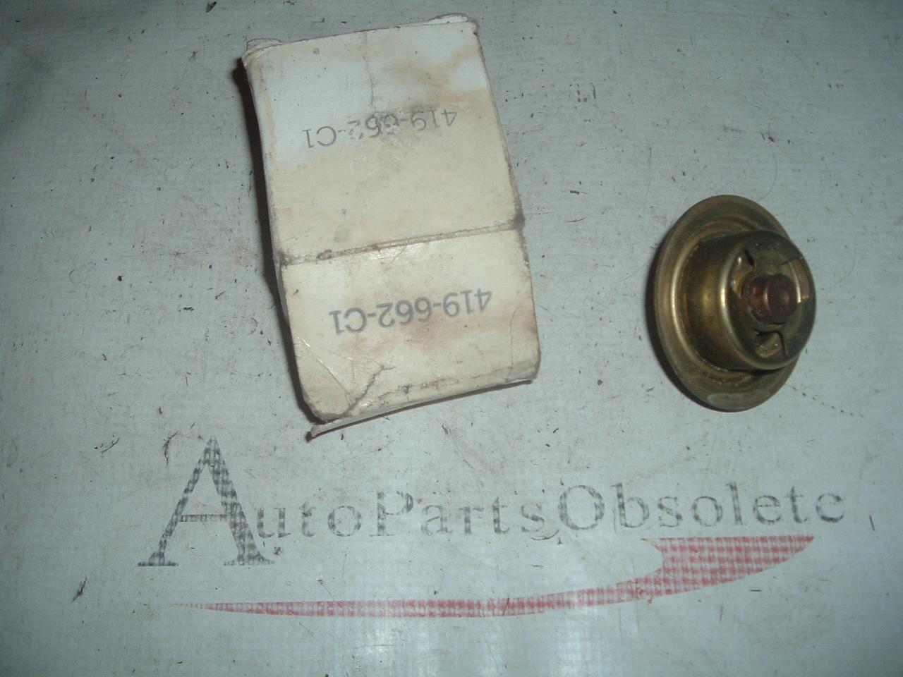 1965 66 67 68 69 70 71 international scout radiator thermostat 419662-C1) (z 419662-c1)