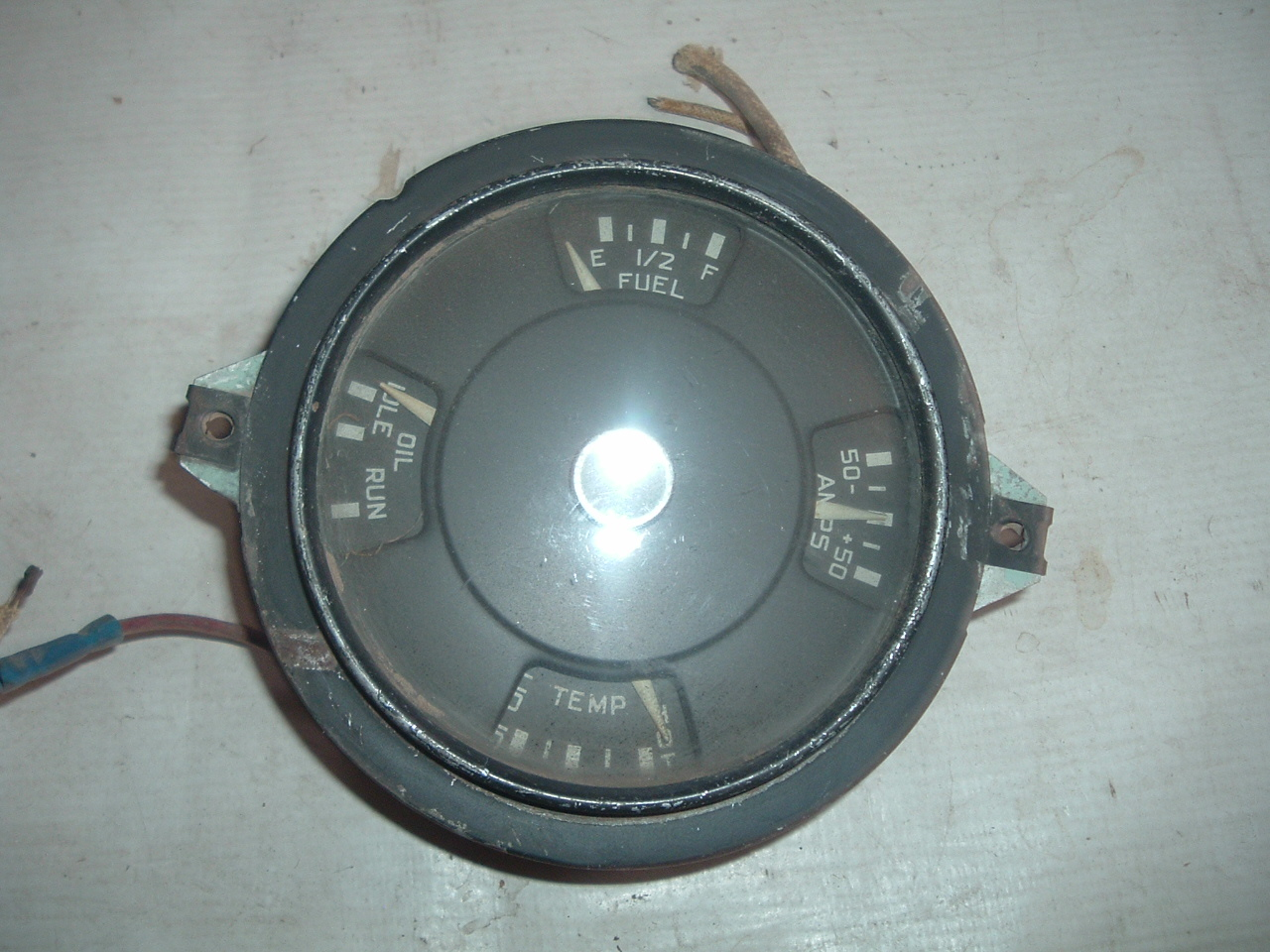 1950 international truck gauge dash cluster (1) (z 50inttruckgauge)