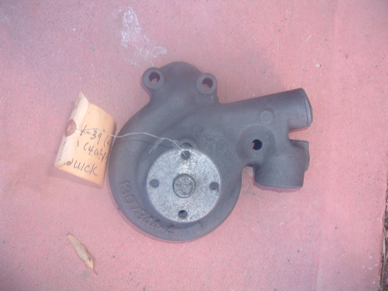 View Product1934 35 36 37 38 39 40 buick water pump rebuilt GM # 1307344 (z 1307344)
