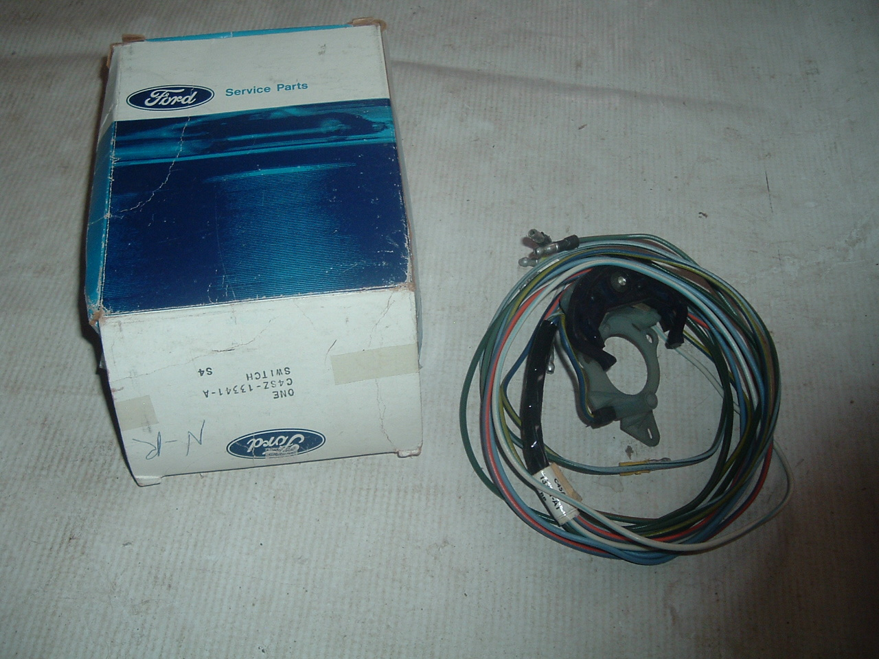 Turn Signal Flasher Switches 1960 Ford Ranchero Wiring Harness 1964 Thunderbird Switch Nos C4sz 13341 A