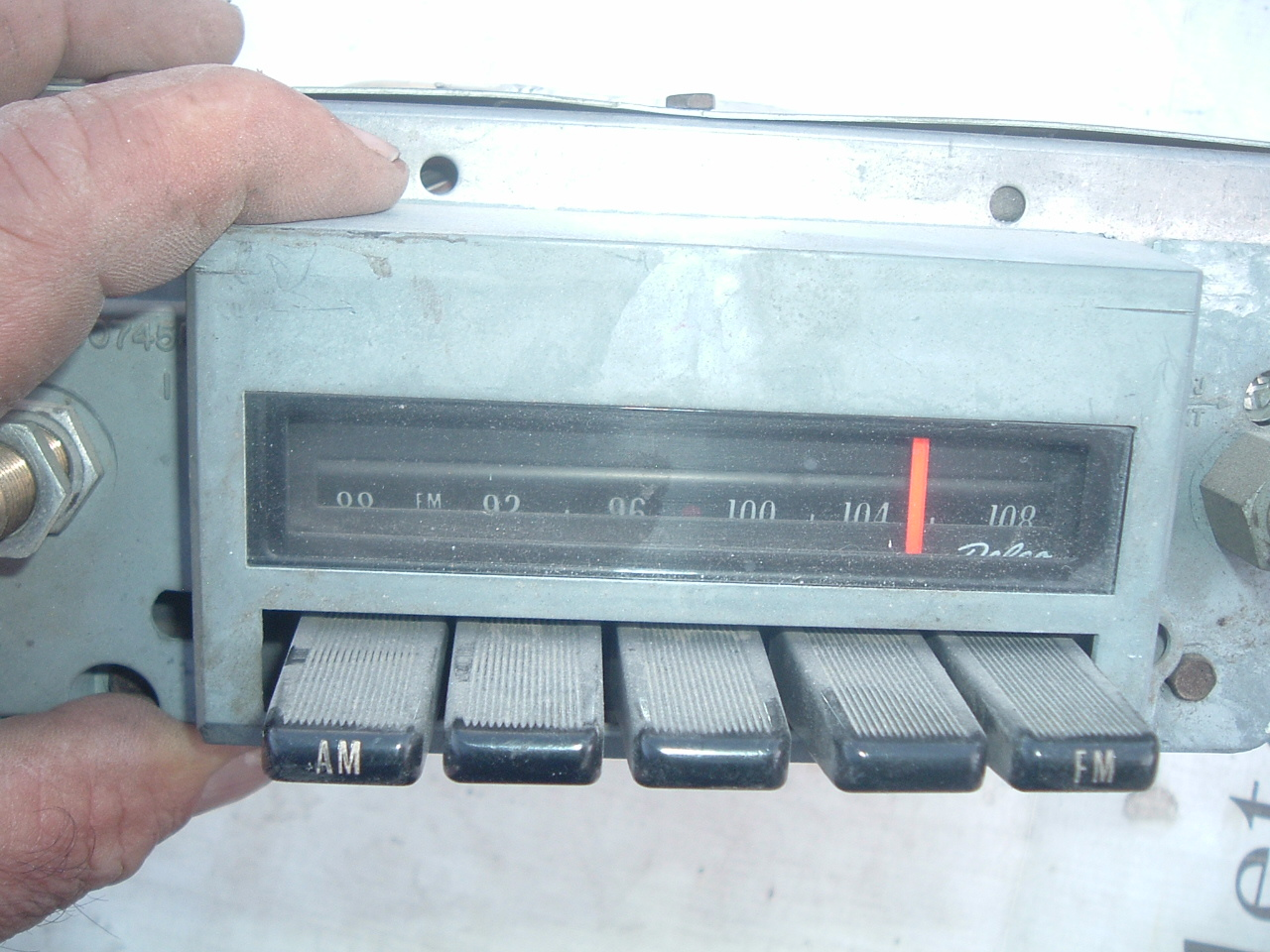 View Product1970 71 72 pontiac gto am/fm stereo radio factory original (z 70-2 pontiacam/fmrad)