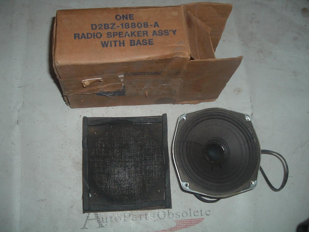 1968 69 70 71 72 73 74 75 76 77 ford bronco radio speaker nos ford # D2BZ-18808-A (z d2bz18808a)